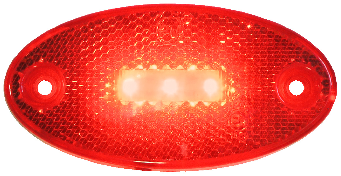 LED Markierungsleuchte Serie 1200 Rot